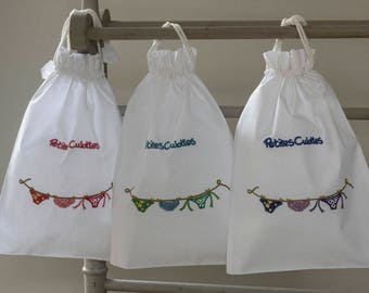 Lara cotton knicker bags