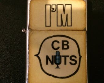 "Vintage "" I'M CB NUTS "" Cigarette Lighter"