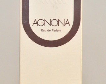 Agnona Eau De Parfum For Woman EDP 200ML 7 Fl. Oz. No Spray Super Rare Vintage Old New 1980s