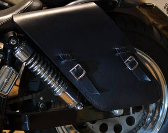 Saddlebag Black for Shovelhead from 1966 to 1985