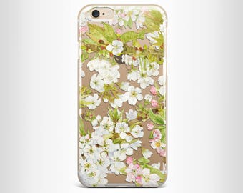 iphone 7 case iphone 7 plus case iphone 6 case iphone 6s case iphone 6 plus case iphone 6s plus case iphone 5/5s clear floral silicone case