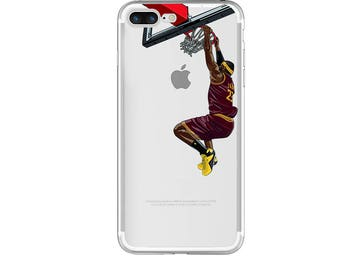 """The """"King James"""" Basketball Phone Case, Hand-drawn Basketball iPhone Case / Fits iPhone 5, iPhone 6, iPhone 7"""