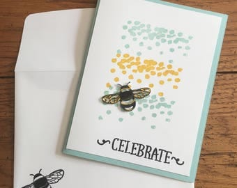 Summer Insect Themed Assorted Card Set (Set of 4)
