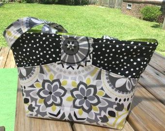 Handbag, Purse, Stylish Tote, Modern style, Colorful, Paisley
