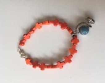 Christian Globe Bracelet