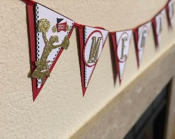 Cheerleader Party Decorations, Cheerleader Party Decor, Cheerleader Banner