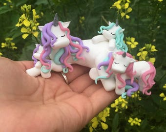 unicorn ornament, family ornament unicorn sculpture available in many colours your choice perfect gifts