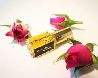 Botanical Jasmine Natural Perfume // Cometh Me Now Oil Frangrance Handmade