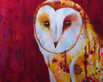 Owlish - Fine Art print