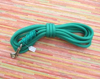 Lanyard dog medium - 5 m - 8 mm - emerald green