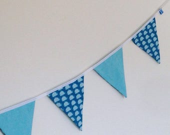 Garland pennants whales