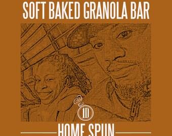soft baked gluten-free vegan friendly granola bars