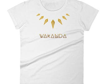 Africa Tribal Necklace Women's short sleeve t-shirt