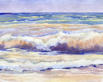 Landscape Watercolour Painting Q92