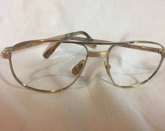 Vintage Desil Gold Spectacle/glasses frame
