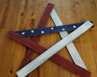 Pallet Patriotic Star