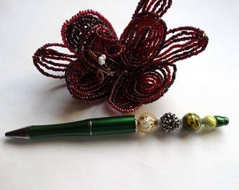 Pen-jewel green tree and its shimmering pearl - 1041