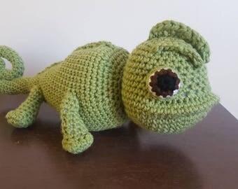 Pascal inspired stuffed toy~ tangled inspired sidekick~ chameleon