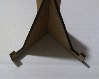 3 inch Wood Stand