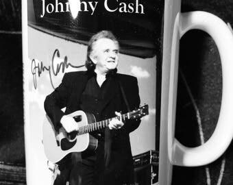 Johnny Cash Photo Coffee Mug, 15 oz