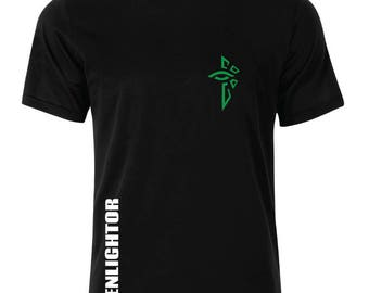 Ingress Enlightened Logo With NameT-Shirt - available in many sizes and colors