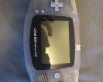 Nintendo GameBoy Advance System Glacier