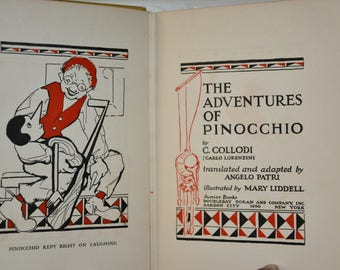 The Adventures of Pinocchio- by C. Collodi