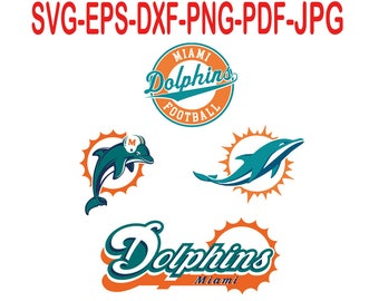 Miami Dolphins.Svg,eps,dxf,png,png,jpg.