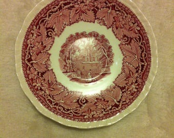 "Vintage Mason's ""VISTA"" Saucer made in England"