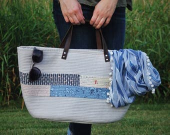 Quilted Market Tote