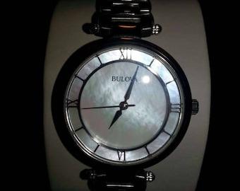 Ladies Bulova MOP Wrist Watch
