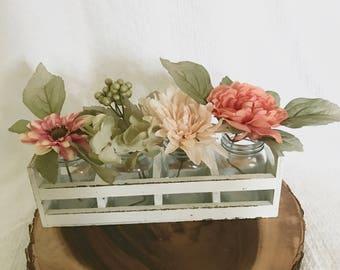 Mason Jar Floral Arrangemt