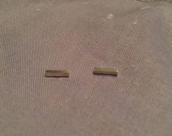 Little bar earstuds