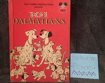 Vintage 101 Dalmatians Book (1974)