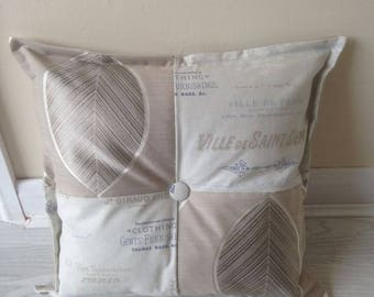 """Fryetts Cannes and John Lewis Westbourne cushion 18"""""""