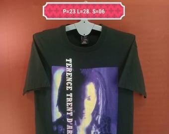 Vintage Terence Trent D Arby Shirt 93/94 Symphony Album Shirt Neon Giant Anvil Shirt Black Colour Size XL Made in USA Soul R&B Pop Rock Punk