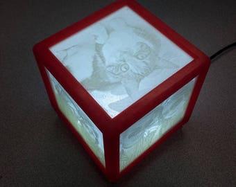 Custom Photograph Lithobox