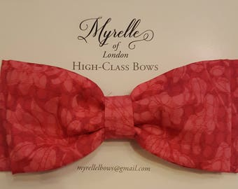 Stunning,hair bows children's, adult's, pink,  fashion, clips, hair, plain, elegant, Liberty of London