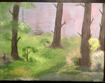 Forest Magic oil painting