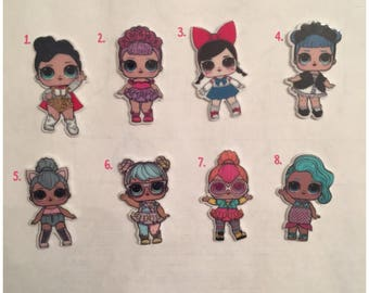 New Lol Surprise Doll Small Pins