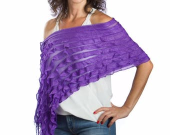 Soft Shimmery Beautiful Scarves