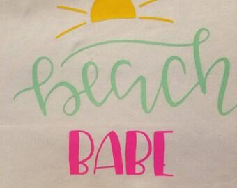 Beach Babe Iron On