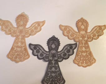 Lace Angel ornaments