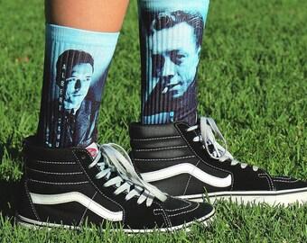 Albert Camus Socks