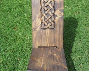 Celtic plank chair