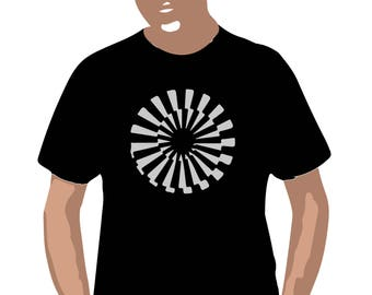 Reflective print Metomorf on T-shirt  For funs For saved life