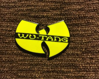 Wu Tang hat pin