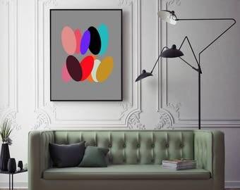 SPLASH - Wall Art Decor, Large Printable Digital Download