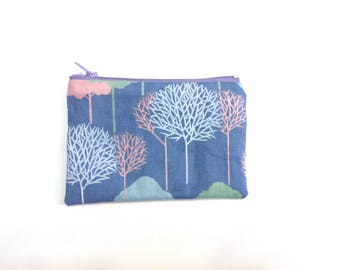 Pouch of Grouch 02: Zip Pouch With Patterned Lining ( 14 x 9.5 cm)