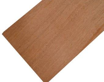 Mahogany Wood Panels Extra Wide (250 x 500mm)